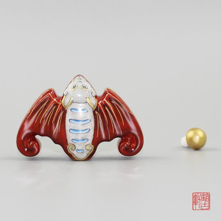 洪福齐天陶瓷鼻烟壶