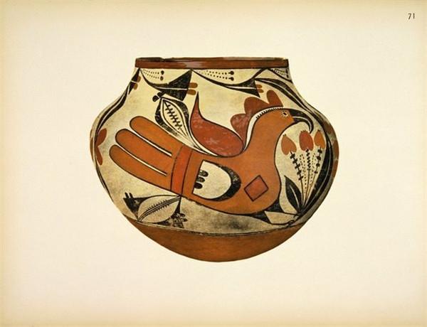 兰州马家窑彩陶图案