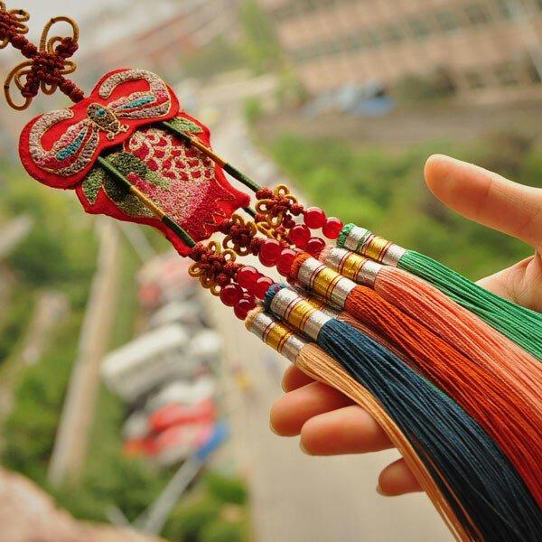 传统中华元素精美挂饰