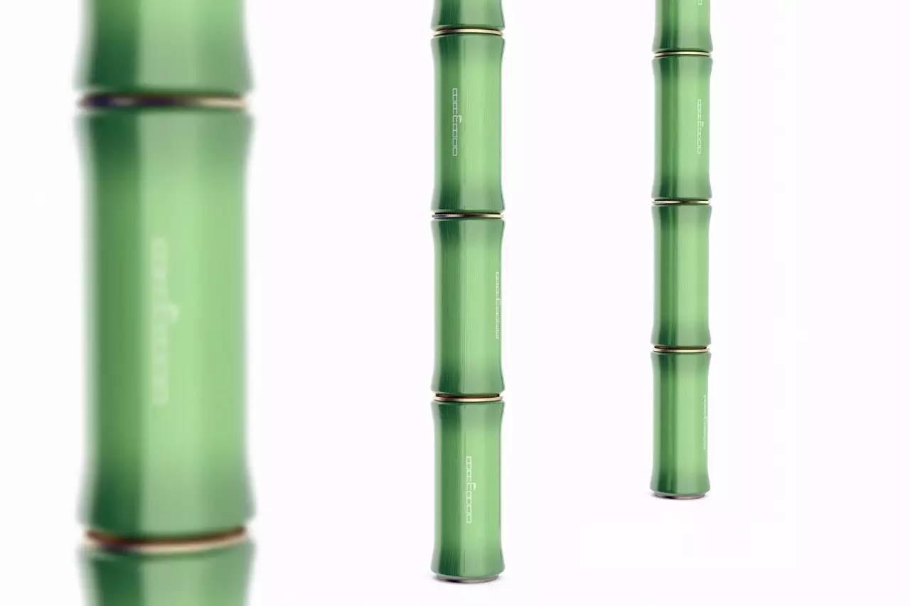 创意清凉的竹子易拉罐饮料包装设计