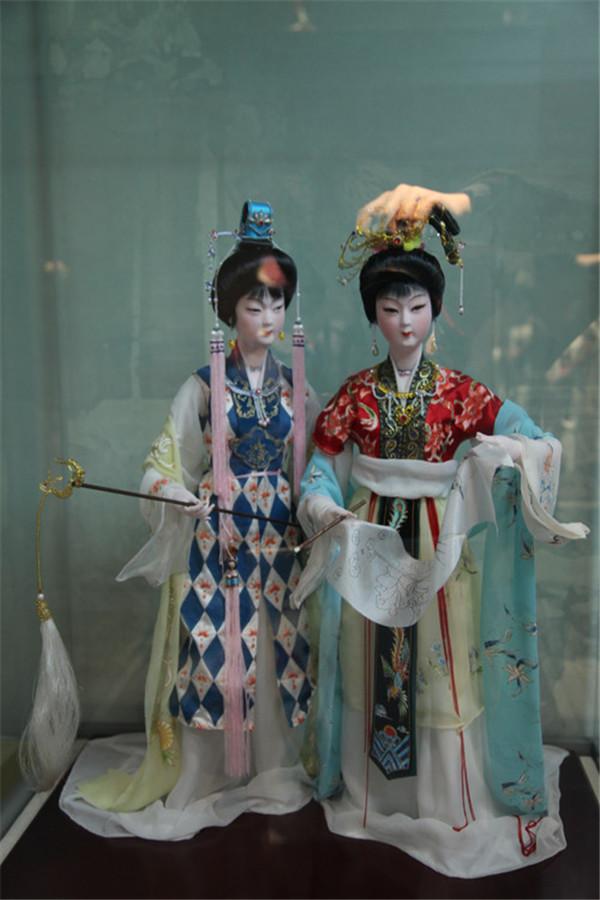 中国传统手工工艺绢人欣赏
