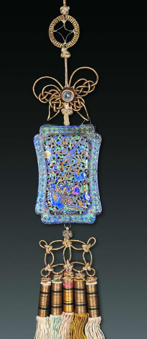 中国传统工艺品工艺——烧蓝