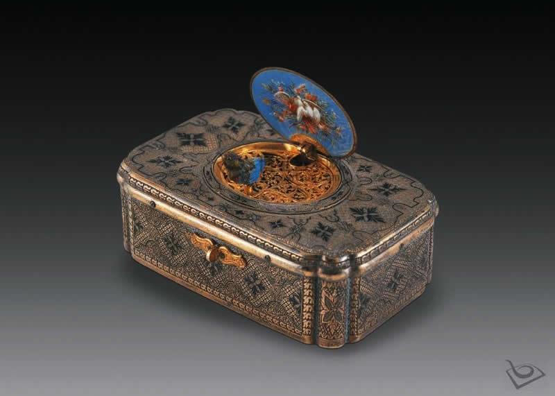 中国传统工艺品工艺烧蓝