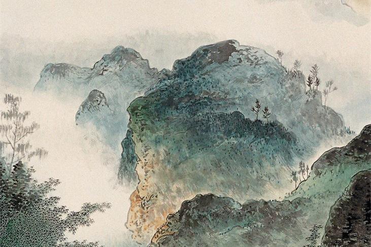 吴泰花鸟山水绘画作品欣赏