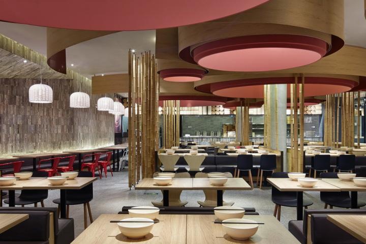 北京包子铺中式装修设计