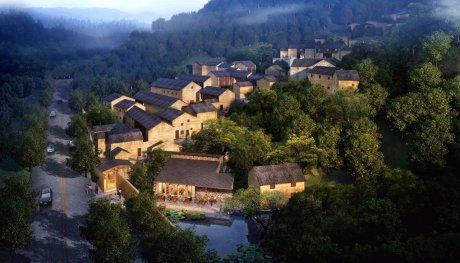 不舍·野马岭中国村民宿,乐在其中