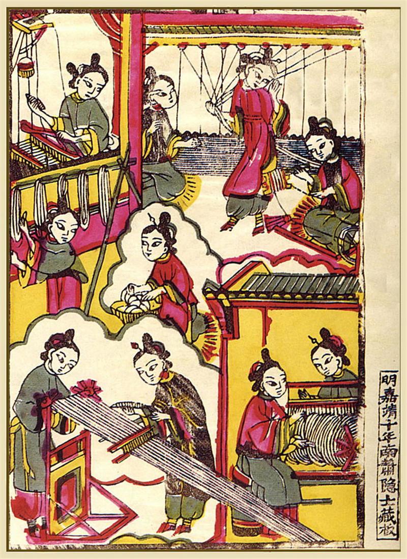 中国传统精美年画作品欣赏
