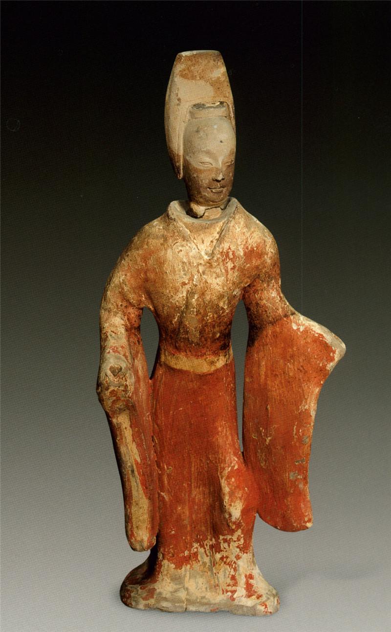 河北北齐墓群出土陶俑