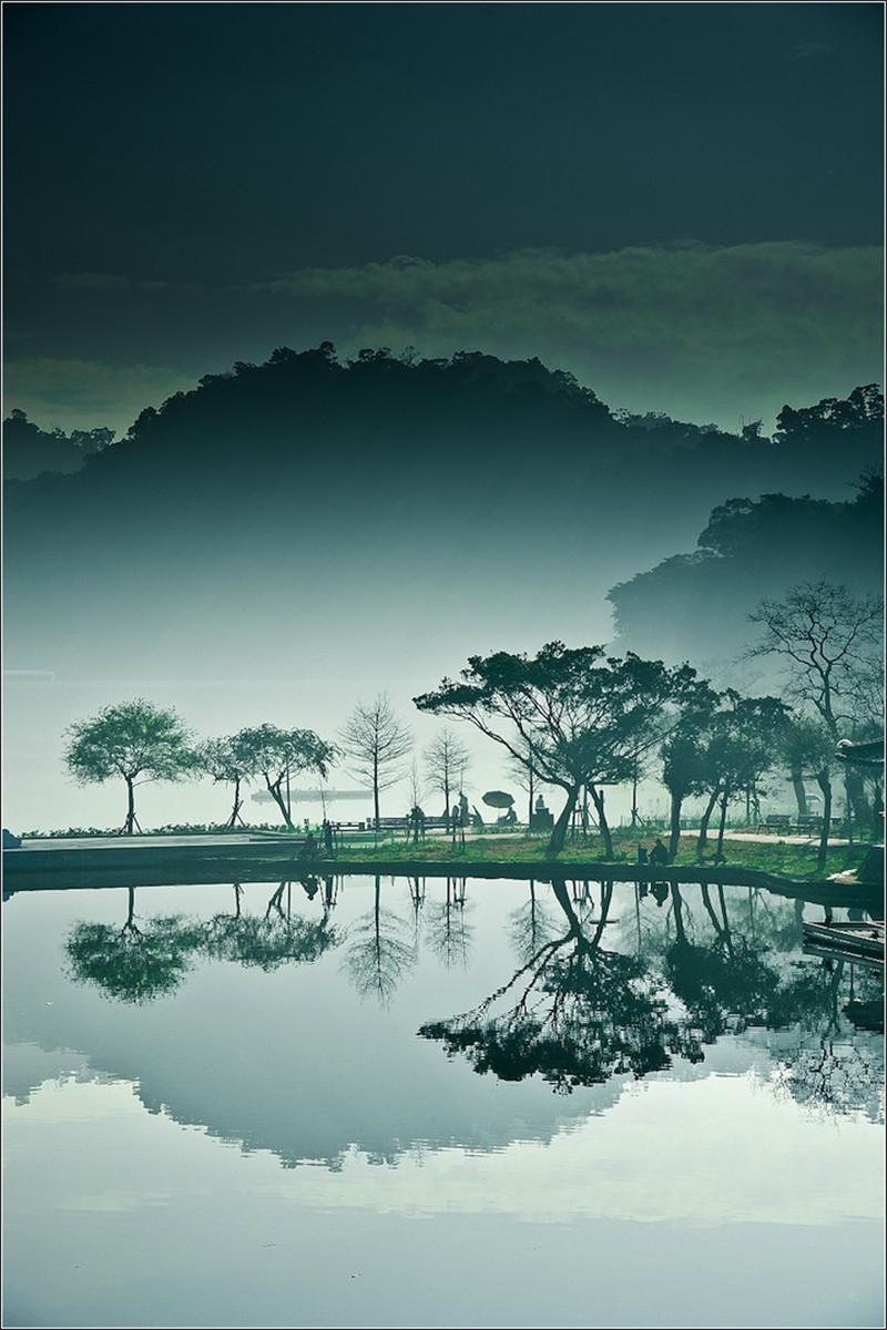 台湾月亮桥摄影欣赏