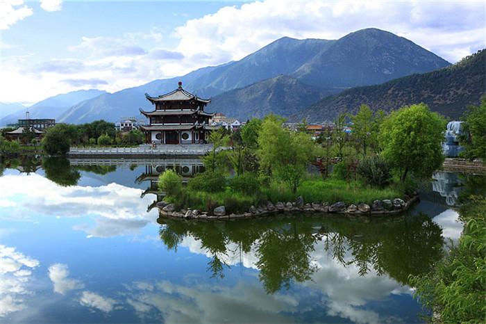 西藏江南地区林芝景色摄影