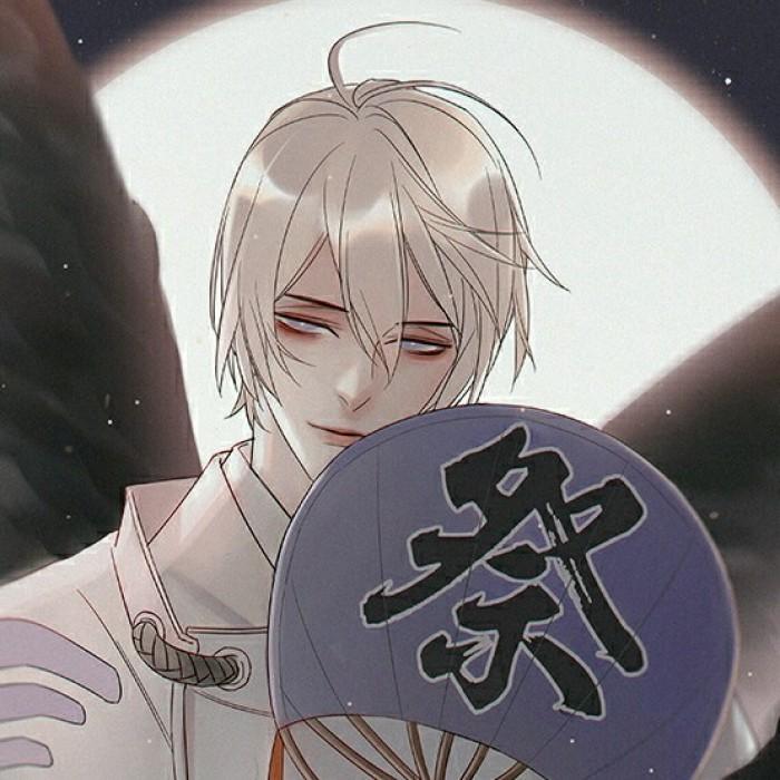 阴阳师大天狗和妖狐古风头像,男生头像帅气