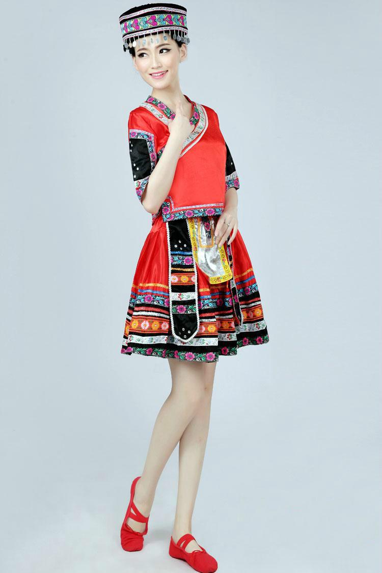 新疆维吾尔族_唯美苗族土家族少数民族服装图- 中国风