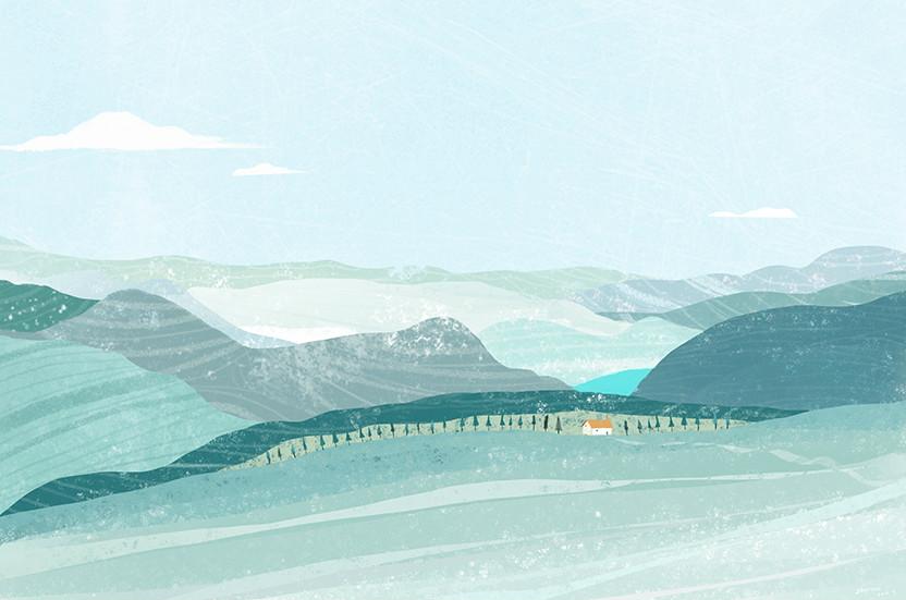 一组风景插画欣赏