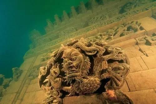 千岛湖底水下古城,一笔一画勾绘故乡的情怀