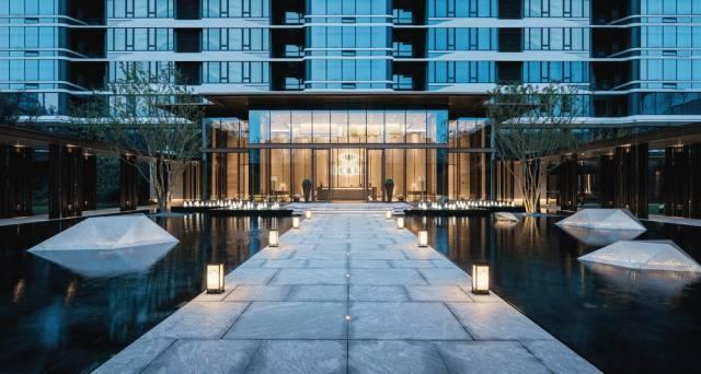 新中式建筑,极简宋韵对中国山水意境的演绎