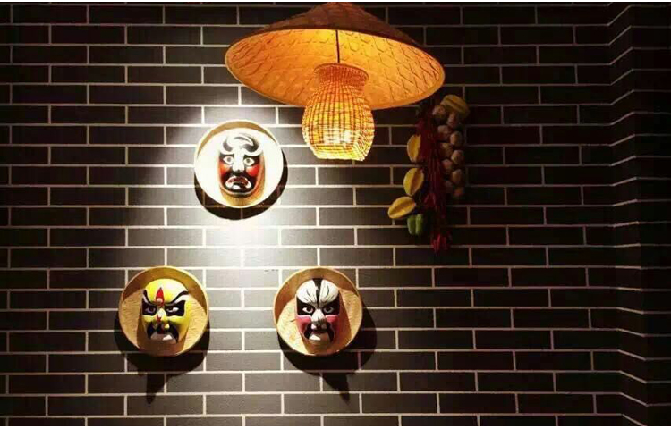 京剧川剧脸谱面具,中国风民间手工装饰品