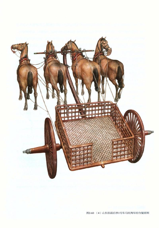 中国古代两轮马车还原图欣赏