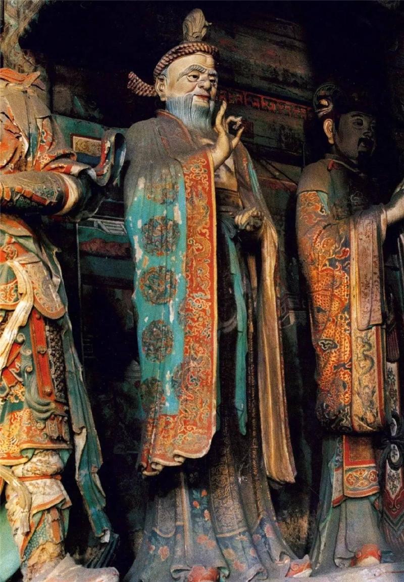 北京大慧寺的精美华丽彩绘雕塑欣赏