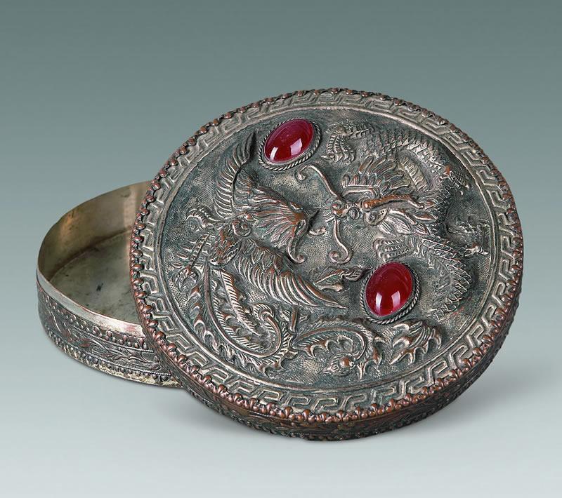 中国古代女子精致华贵的梳妆匣(一)