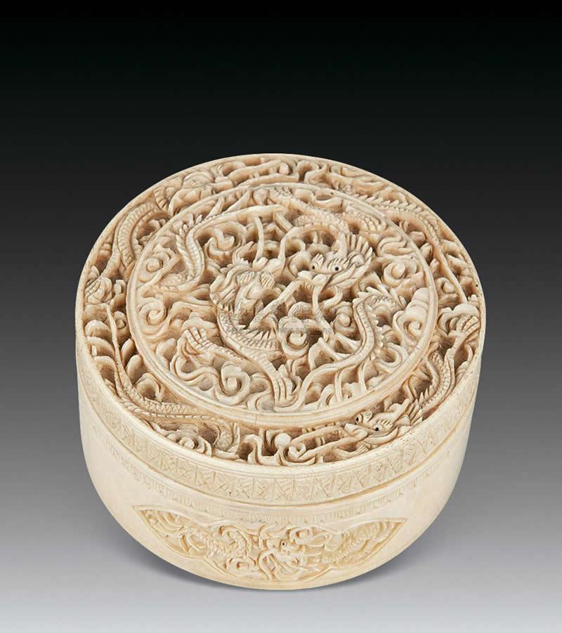 中国古代女子精致华贵的梳妆匣(二)