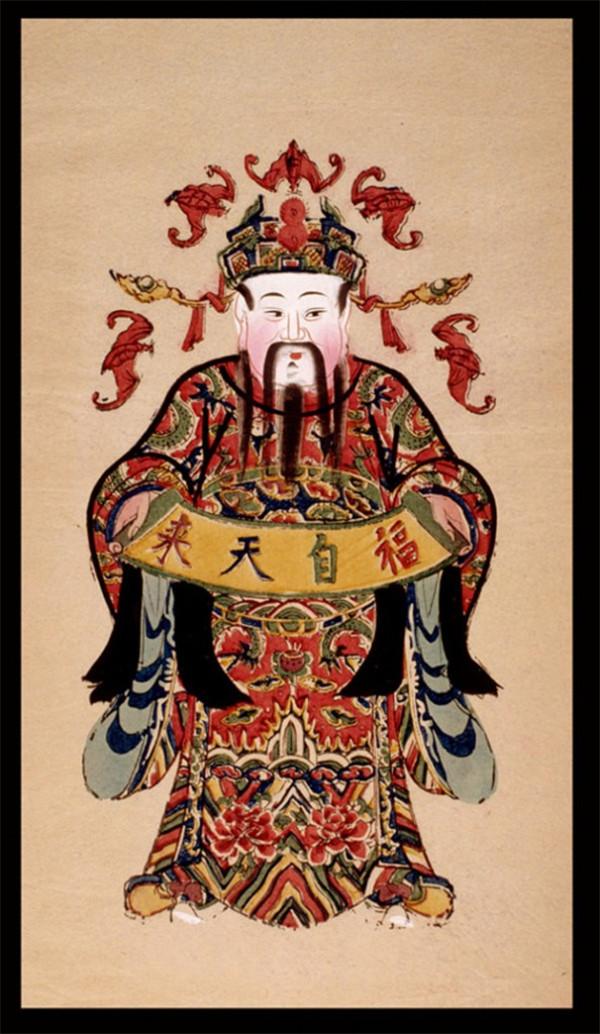 中国风传统精美色彩艳丽的年画(三)
