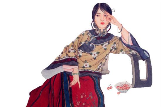 赵成伟《清装红楼人物谱》欣赏
