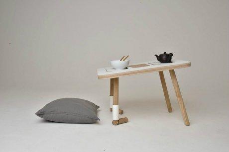 原木创意桌子设计