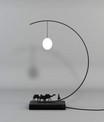 关于丝绸之路的一款创意灯具的