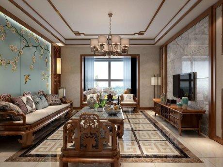 古典雅致的新中式住宅装修设计
