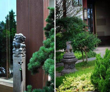 中式庭院设计,中国人内
