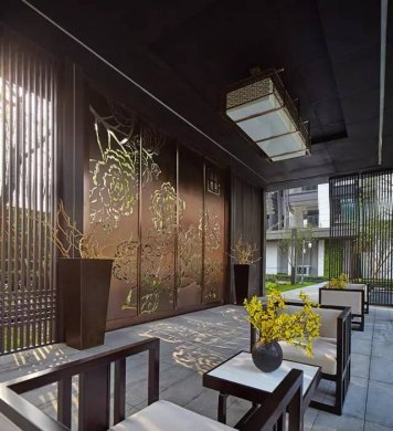 中式景观流行设计元素:亭台·