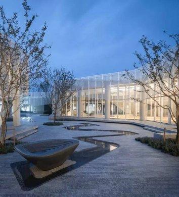 中式景观流行设计元素:曲水流