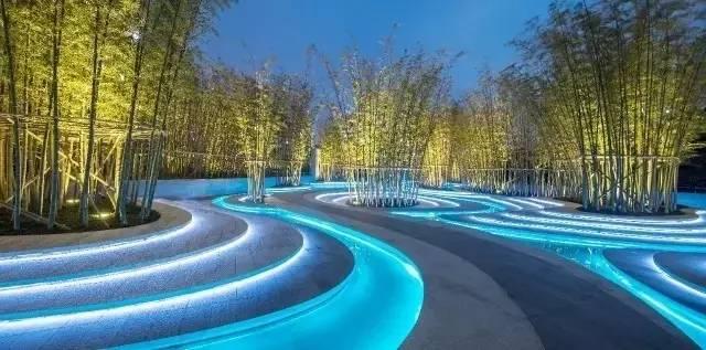 中式景观墙_中式景观流行设计元素:曲水流觞(2)- 中国风