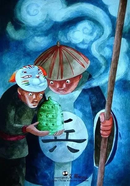 中国古代神话色彩的壁画作品