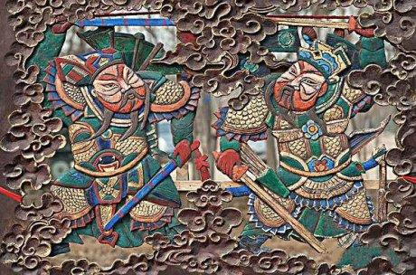 木版年画发源地,中国传统文化