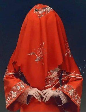 最美中国风嫁衣,中式婚