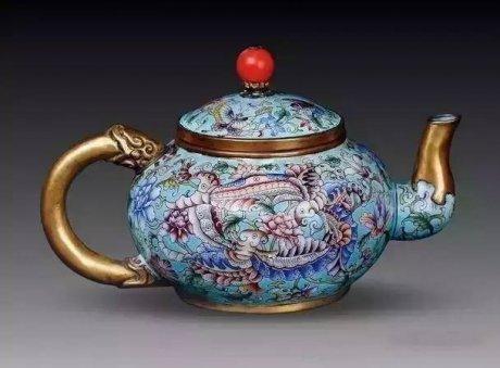 中国风古茶壶,妙不可言