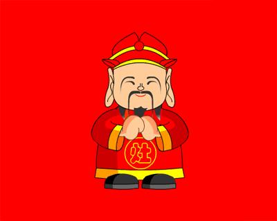 中国传统文化:五款中国风的圣诞老人