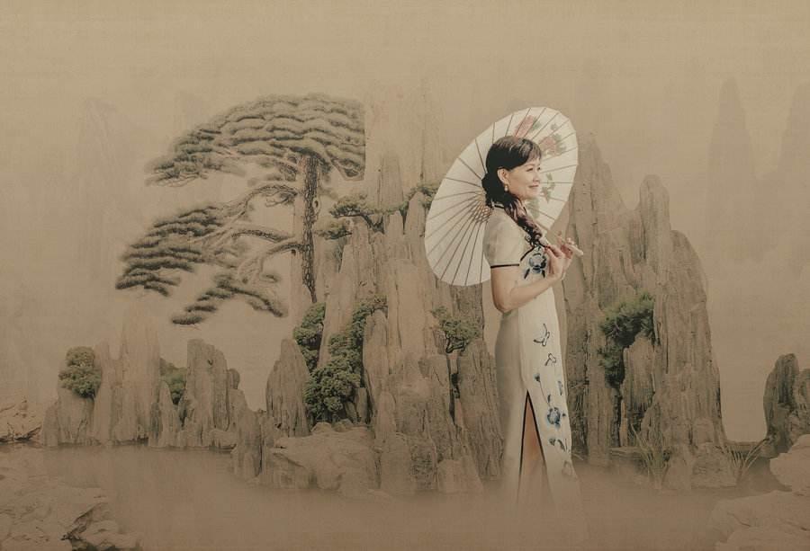 寻根旗袍的美,旗袍的文化内涵