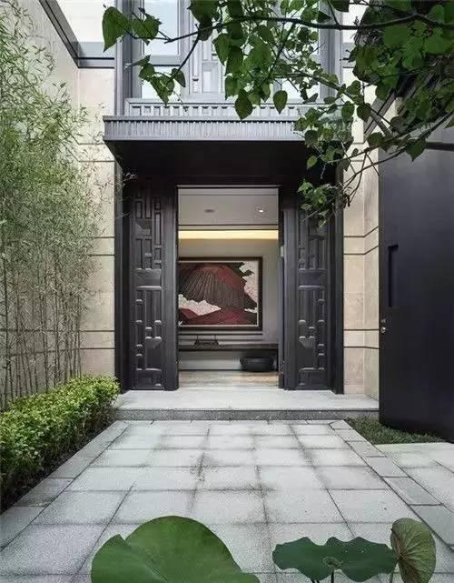 精美的中式门头设计