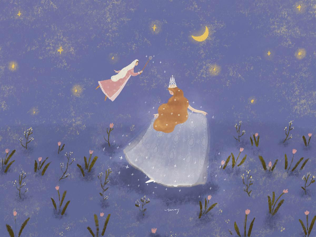 梦幻童话公主插画欣赏