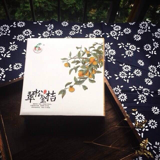 朴素的翠松金桔包装设计