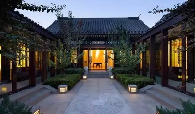 中国的四合院,才是真正的豪宅!