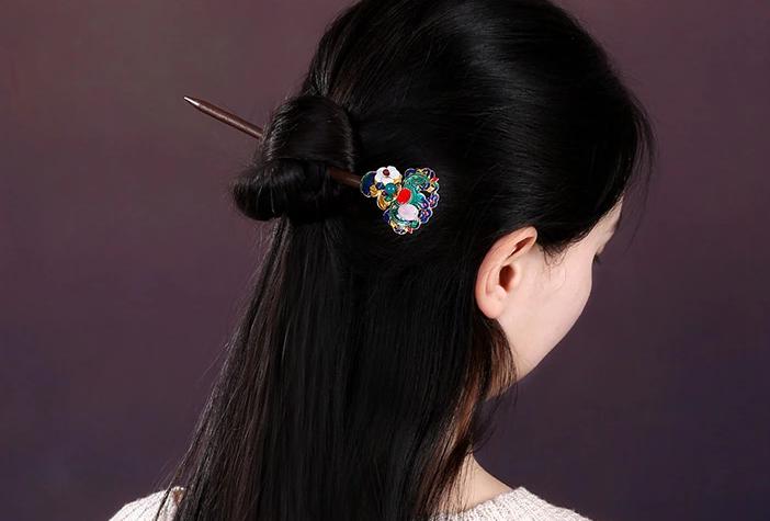 古典簪子头饰民族风精致盘发头饰