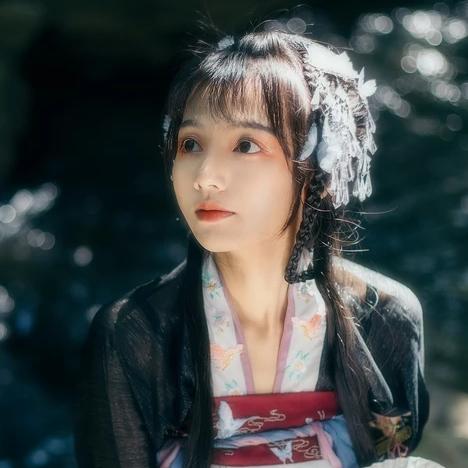 中国风清新可爱唯美古风女子头像