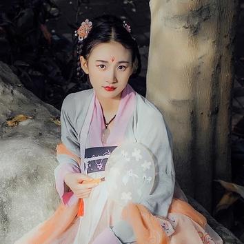 小清新唯美可爱头像,中国风古风真人女子头像