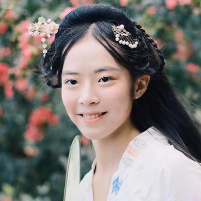 中国风古风真人唯美女子头像