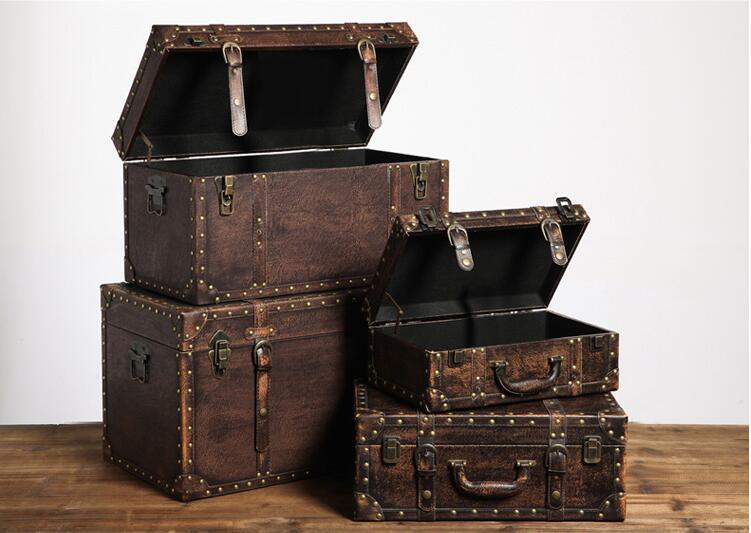 木箱子,时光遗留的古朴自然