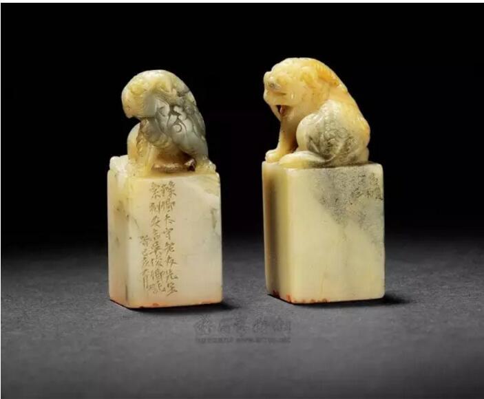 寿山石印章,天地造化的自然精灵