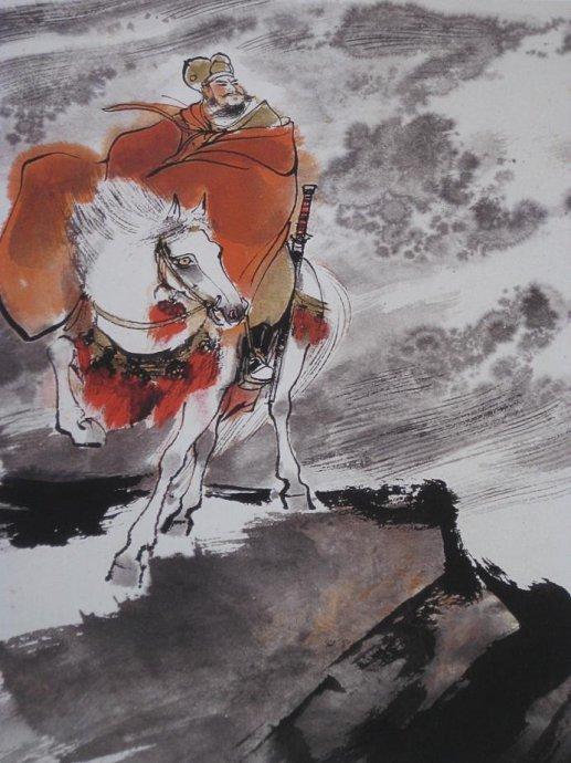 十二诗人画像册,刘旦宅是最清秀俊逸的画家